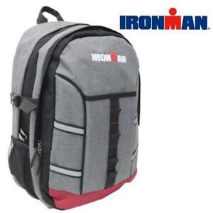 NEW UNISEX IRON MAN BACKPACK A2289IRM GRY 223831523 ADULT IRONMAN MULTI COMPARTMENT BAG