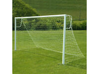 BRAND NEW 7 V 7 STEEL GOALS FOR SALE