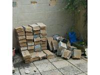 Breeze blocks/rubble