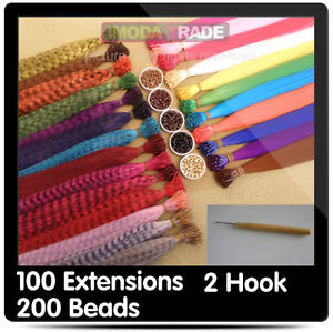100 GRIZZLY & SOLID SyNtHeTic FeAtHer HaiR ExtEnSioN 15