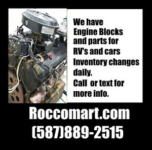 RV and Truck Block Motors - Ford