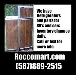 Assorted RV Refrigerators