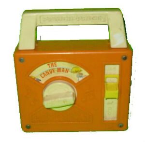 Fisher Price #790 Music Box The Candy Man