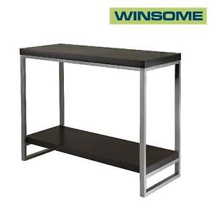 NEW WINSOME WOOD CONSOLE TABLE - 111855075 - JARED BLACK FINISH