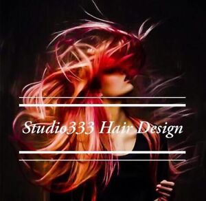 Studio333 Hair Design - Accepting New Clients!