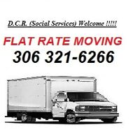 "FLAT RATE MOVING .. ""flat rate is the best rate"""