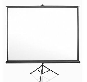 Projecta 70 x 70 inch projection screen with tripod base