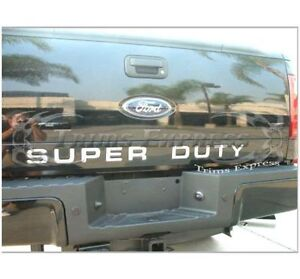 FORD F250/F350 Lettres SUPER DUTY pour Tailgate