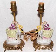Antique Figurine Lamp