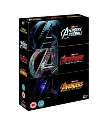 Marvel's Avengers 1- 3 Trilogy (DVD Box Set 2018) 3 Movie Collection - Brand New