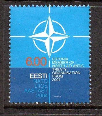 ESTONIA MNH 2004 SG461 ACCESSION TO NATO