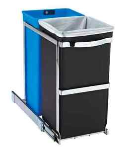 Best Appartement garbage - simplehuman Double Pull-Out Trash Can
