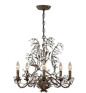 (NEW) Beautiful Chandelier bronze $199.00 at Home depot Kitchener / Waterloo Kitchener Area image 1