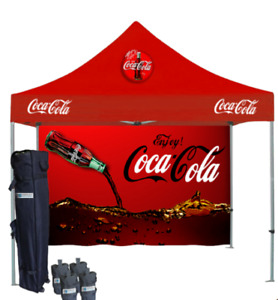 Printed Aluminum Tents | Canopy Tent with Graphics canada
