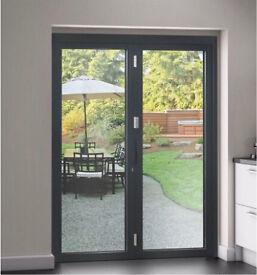 2 Door Bi Folding Door New Glazed