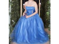 Stunning Blue Ball Gown For Sale