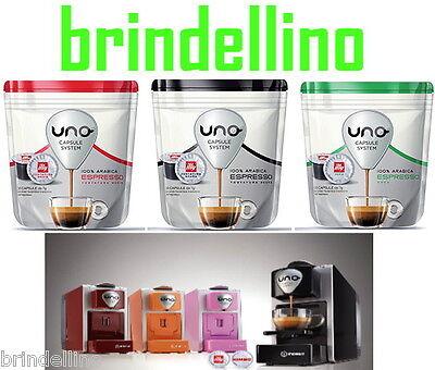96 CAPSULE CAFFE ILLY UNO SYSTEM PER MACCHINA INDESIT KIMBO ILLY ORIGINALI