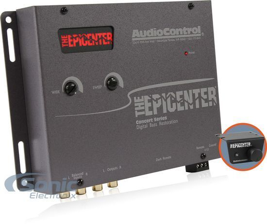 AudioControl The Epicenter Concert Series Digital Bass Reconstruction Processor