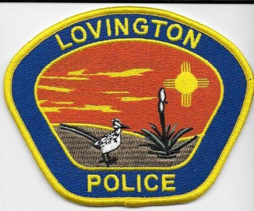 LOVINGTON NEW MEXICO POLICE DEPT LNM NM ROADRUNNER (FIRE) LOT OF 1 FLOWER