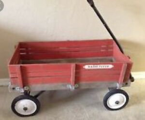 Radio Flyer Wagon $45 very sturdy can deliver