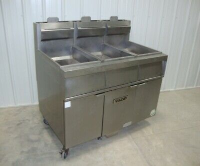 Vulcan Powerfry 3tr45af Gas Fryer With Filtration