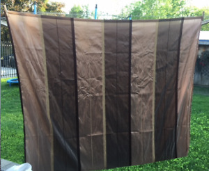 "TWO 8' X 4'6"" DRAPERY PANELS IN EXCELLENT 'LIKE NEW' CONDITION!!"