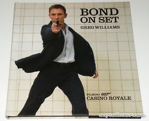 Bond on Set: Filming 007 Casino Royale, James Bond Book