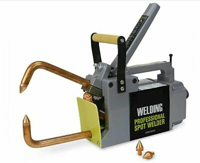 Stark Professional Portable Electric 240 Volt Spot Welder Machine With Tips