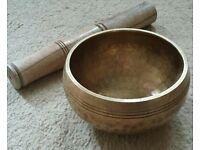 Nepalese Meditation/Singing Bowl