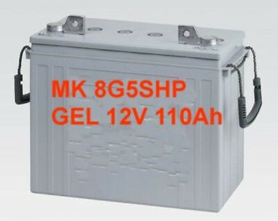 Battery Mr Emergency Plus 1100 Mk 8g5shp 12v 125ah 20 Hr. Gel Deep Cycle Each