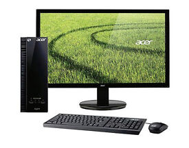 "Acer XC-703, 18.5"", All-In-One Desktop Computer PC, Intel Celeron, 4GB RAM, 1TB - Black"