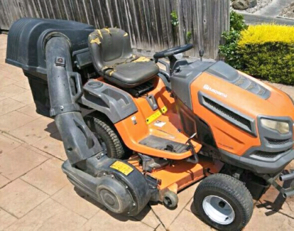 Wanted: Ride on mower with catcher