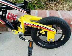 TONKA MIGHTY BIKE DUAL SHOCKS CHILD'S BICYCLE IN  GOOD CONDITION