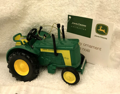 John Deere 820 Diesel Tractor CHRISTMAS Ornament New WITH TAG