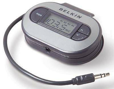 Belkin TuneCast II FM Transmitter F8V3080 for All iPod iPhone MP3 Player
