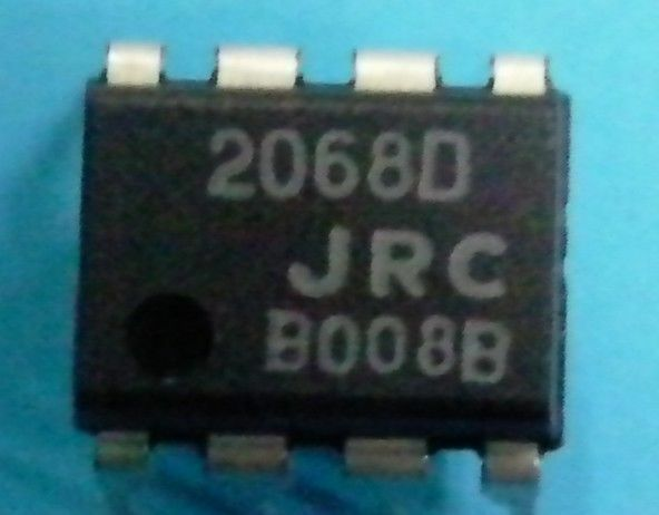 JRC NJM2068D DIP-8 LOW-NOISE DUAL OPERATIONAL AMPLIFIER SOP8 pls call USA ship