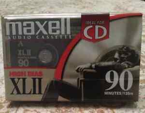**SEALED** Blank Maxell Audio Cassette Tapes