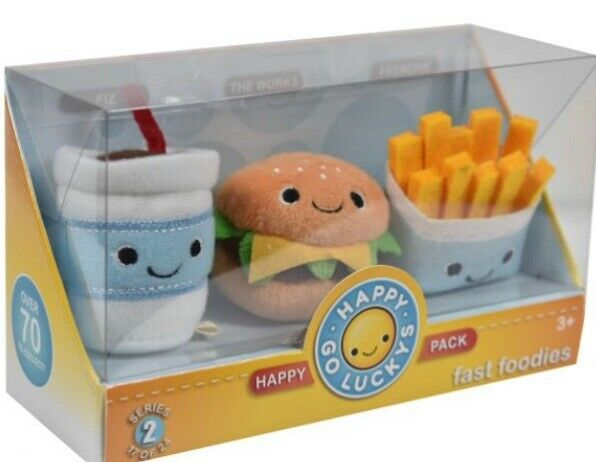 Hallmark Happy Go Luckys Happy Pack - Fast Foodies