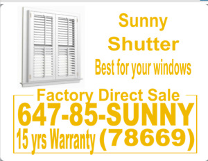 window covering factory direct sale shutter blinds