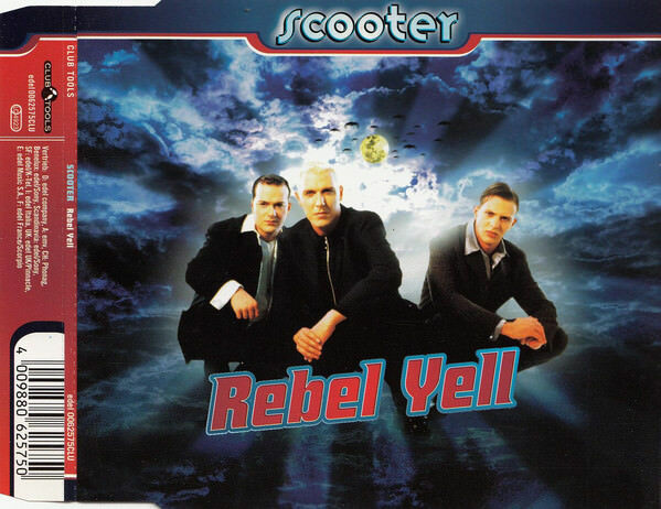 scooter ‎maxi cd rebel yell - europe (m/m)