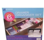 Plastic Drawer Organiser