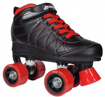 LenexaHoopla Roller Skates for Boys Kids Girls Quad Skate for Indoor / Outdoor Boys Quad Roller Skates