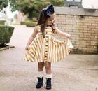 SweetHoney Sleeveless Dresses (Newborn - 5T) for Girls