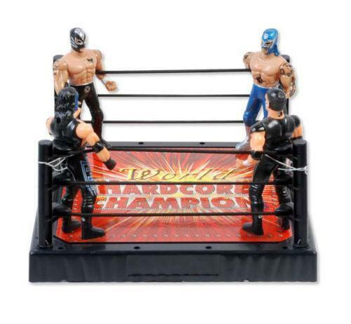 how to make a wrestling ring for figures