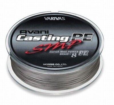 VARIVAS AVANI Casting PE line SMP Super Max Power #6 Max 90lb 400m 8 BRAIDED