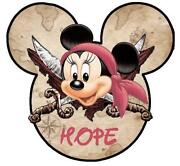 Minnie Mouse Iron on Transfer