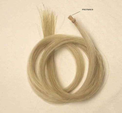 """One Big Hank 32/"""" Bow Horse Hair Mongolian for Bass Bow"""