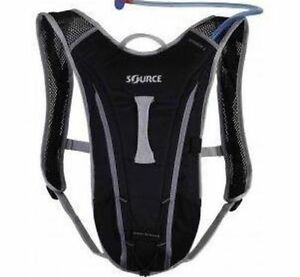 Source Spinner 2L Hydration Back Pack – Black/Grey Camden South Camden Area Preview