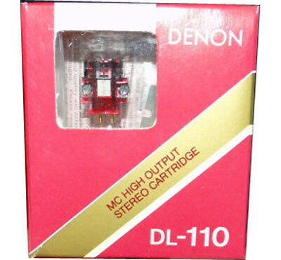 NEW DENON DL-110 HIGH OUTPUT MOVING COIL PHONO CARTRIDGE DL110-FREE SHIPPING!!