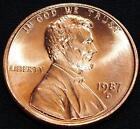 1987 D Penny